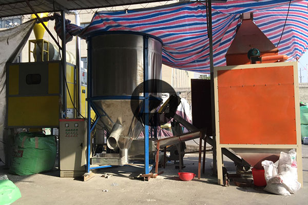 300kg per hour mixed plastics electrostatic separation machine