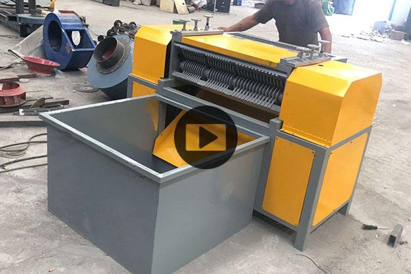 प्रति घंटे 300 किलो तांबा एल्यूमीनियम रेडिएटर रीसाइक्लिंग मशीन