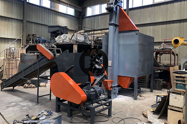 800 किग्रा प्रति घंटा प्लास्टिक, सिलिका जेल और रबर इलेक्ट्रोस्टैटिक पृथक्करण मशीन