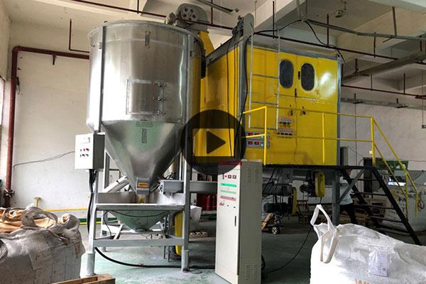 800 kg प्रति घंटा मिश्रित प्लास्टिक इलेक्ट्रोस्टैटिक पृथक्करण मशीन