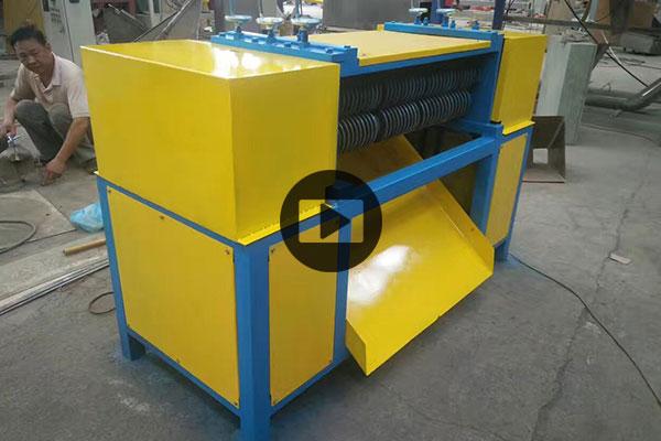 600 kg प्रति घंटा तांबा एल्यूमीनियम रेडिएटर रीसाइक्लिंग मशीन